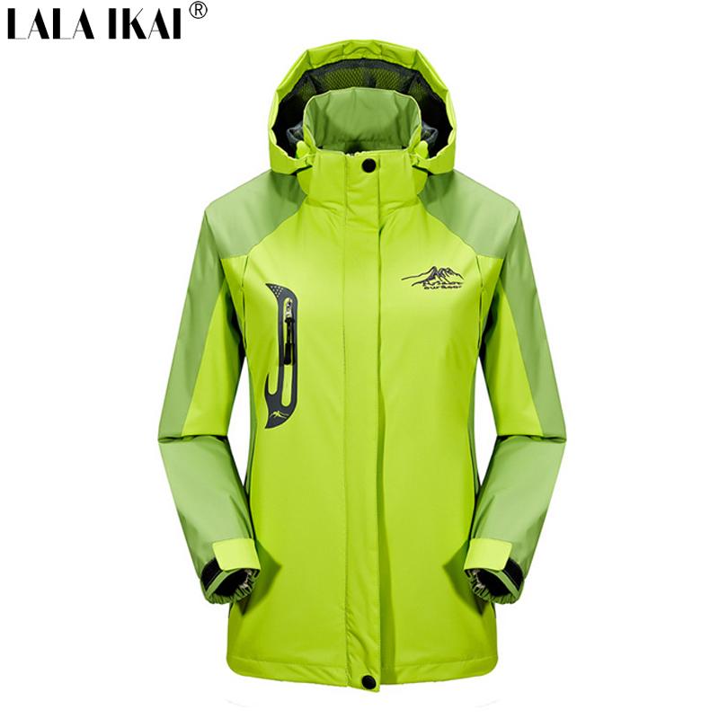 Spring Autumn Outdoor Waterproof Jackets Camping Hiking Jackets Hunting Climbing WindStopper Rain Sport Jacket Women HWA0141-5<br><br>Aliexpress