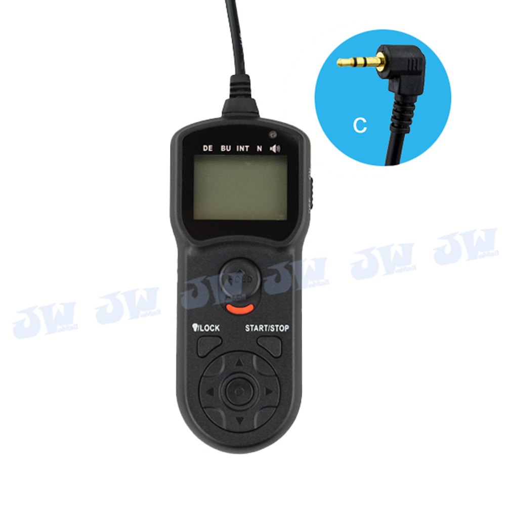 JJC TM-C Wire Multi-Function LCD Timer Remote Control for Canon EOS T5i T4i T3 T3i 70D 100D 700D 60Da 650D 600D 1100D 550D 60D(China (Mainland))