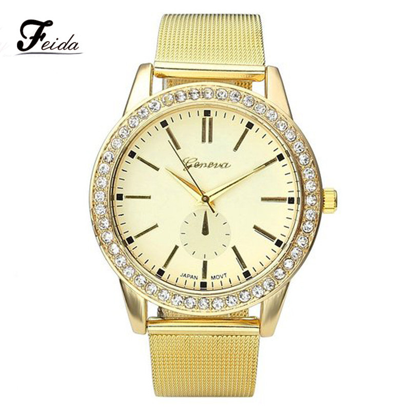 feida big discount watches 2016 geneva stainless
