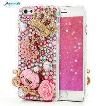 Buy 3D Glitter Luxury Diamond Case iPhone 4 4S 5 5S 5C 6 6S Plus Bling Back Cover Samsung Galaxy S5 S6 Edge Plus Note 5 A8 for $8.00 in AliExpress store