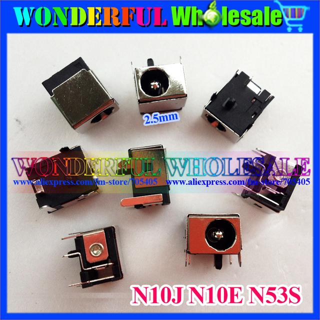 2.5mm DC  JACK Power Socket for ASUS N10J N10E N53S Laptop Jacks