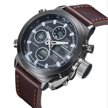 2016 Man s sport watch relojes de los hombres High Quailty panske hodinky leather horloges mannen