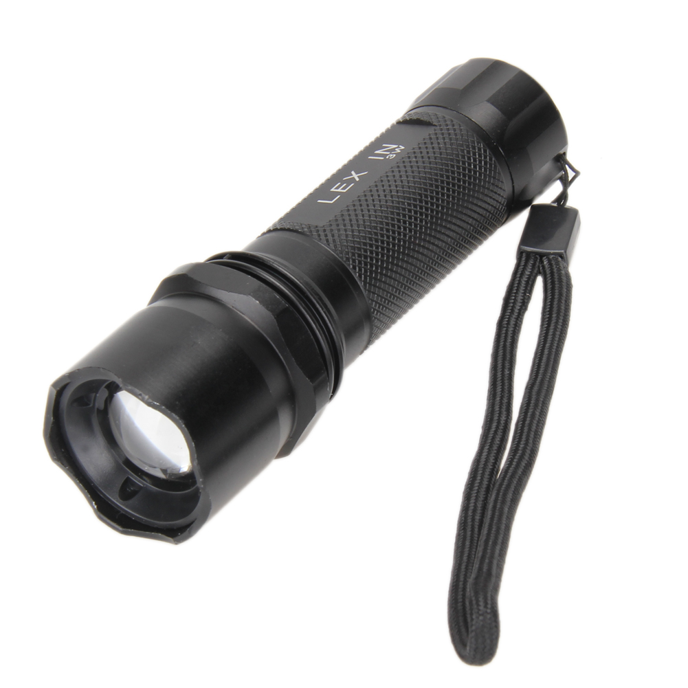 Portable Mini LED Flashlight 3W Waterproof Camping Lanterna LED 3 Modes Zoomable Torch AAA Battery Flashlight led Best Price(China (Mainland))
