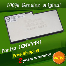Free shipping Original laptop Battery For Hp Envy 13-1008TX 13-1010ER 13-1015ER 13-1030CA 13-1030NR 13-1050EA 13-1050EF