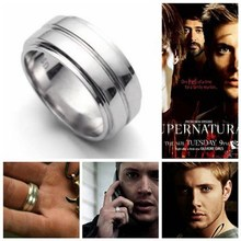 2014 Fashion jewelry bijoux jewelry, Supernatural Inspired Dean's Amulet Dean Winchester ring.rings