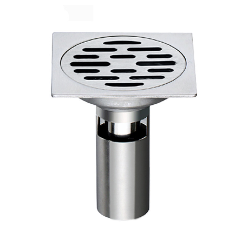 Rolya Square Shower Floor Drain with Removable Strainer, Stainless Steel<br><br>Aliexpress