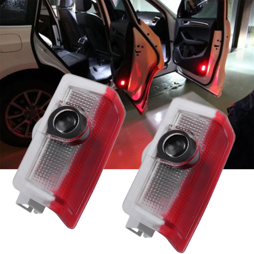 2pcs/ pair Auto Car Door Shadow LED Logo Welcome Projector Light Lamp for Benz<br><br>Aliexpress