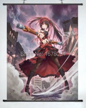 Home Decor Anime Date A Live Tokisaki Kurumi POSTER WALL Scroll HOT
