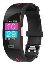 Цветной экран Смарт-часы монитор сердечного ритма шагомер калорий фитнес-трекер Bluetooth спортивный смарт-браслет для IOS Android(China)