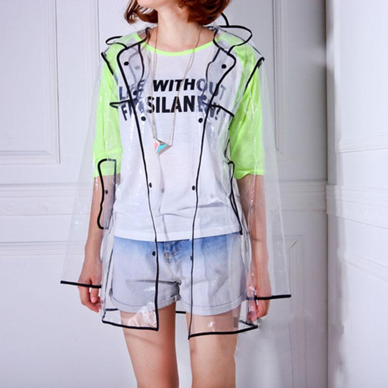Женские прозрачные плащи купить платье сен лоран