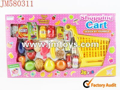 2012 new design fashion food play set kitchen toy