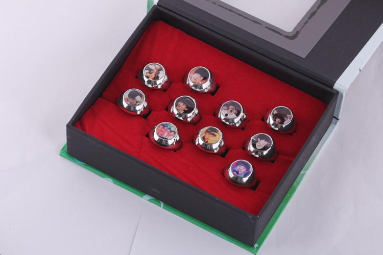 T F a family ring suit TFBOYS chun-kai wang rings around stars(China (Mainland))