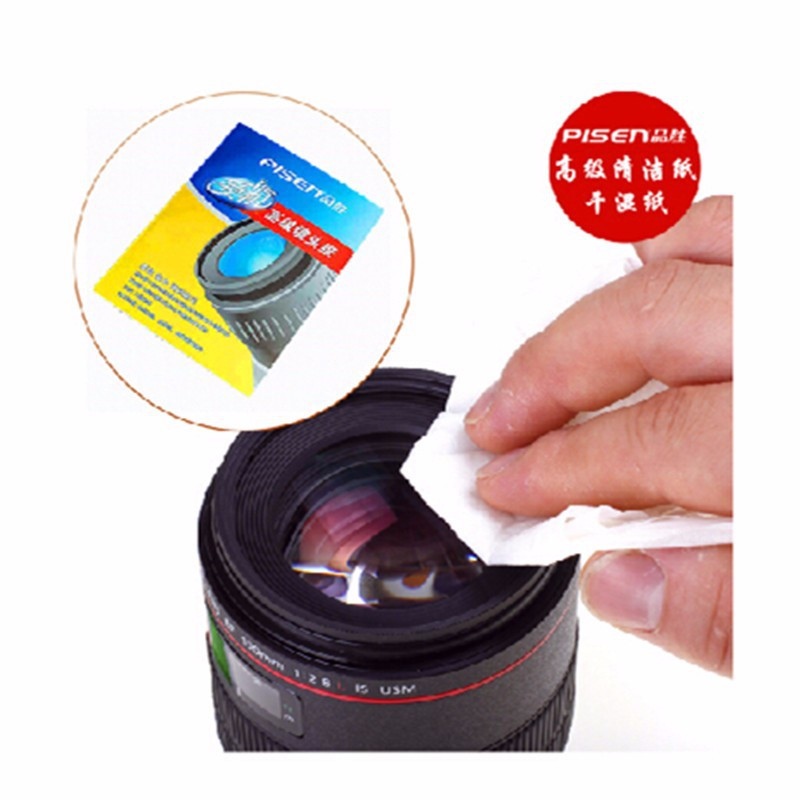 High Quality Glasses Camera Lens Micro Fiber Cleaning Paper DV CD Phone Screen Cleaner 10SET=400PCS(China (Mainland))