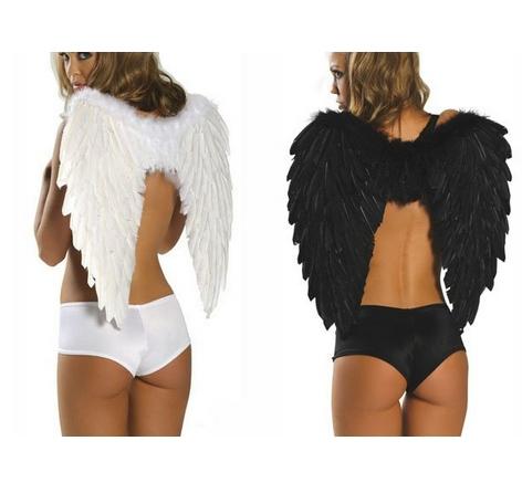 Halloween Costumes Black Angel Wings Wing Halloween Costume