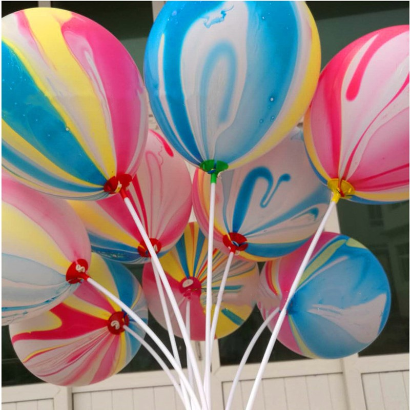 50pcs 10 Inch Latex Balloons Bubble Colorful Clouds Air Balloons Kids  Birthday Party Wedding Decoration Balls Holiday Supplies