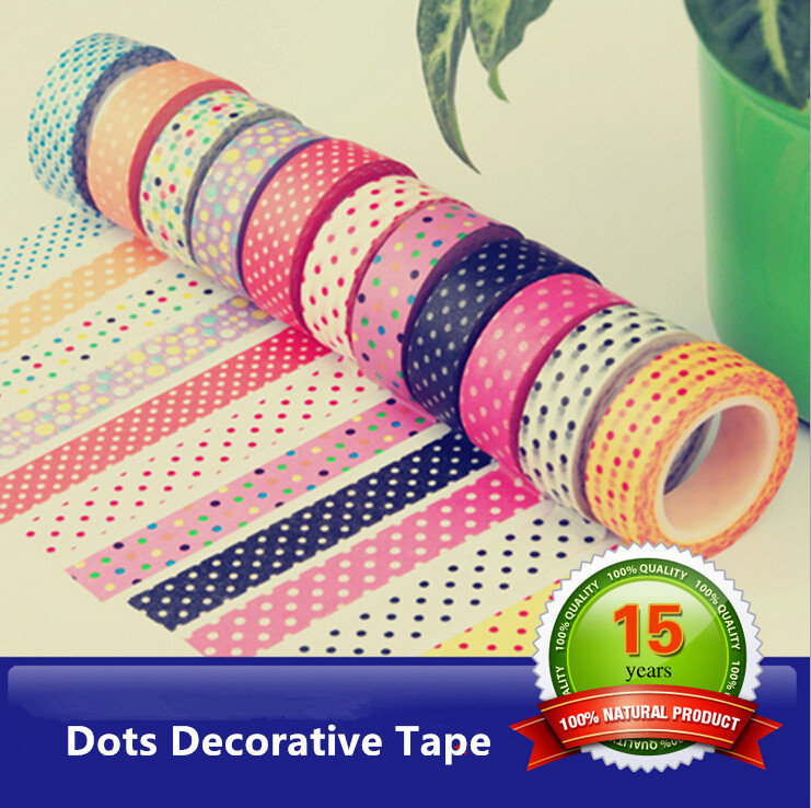 Wholesale 12pcs/lot Scrapbooking Masking Tape 1.5cm*10m Cinta Adhesiva Japonesa Papel Rendado Stationery Products Office Sticker(China (Mainland))