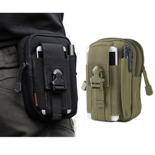 Sport Molle Tactical Waist Bag Men Outdoor Casual Waist Pack Wallet Mobile Phone Case For blackview bv6000 bv5000 e7(China (Mainland))