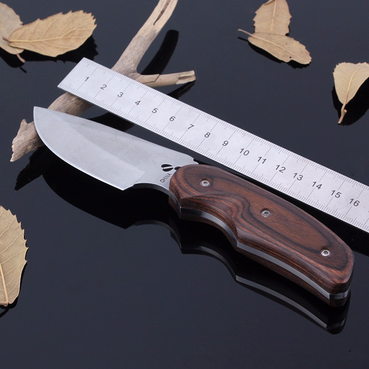 Buy Free delivery Buck 076 Stainless Steel 7CR17MOV 58HRC Fixed Blade Camping Hunting Knife cheap