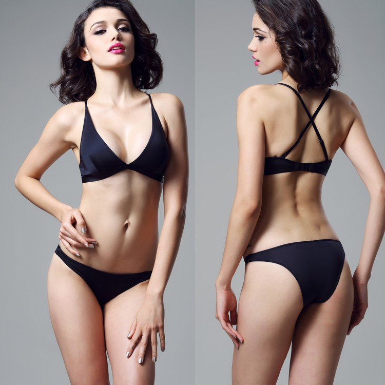 Super Thin Women Multi-Way Push Up Positive Bra Soft LYCRA Fabric Brassiere Sexy Casual Seamless Wireless Lingerie BH Bra