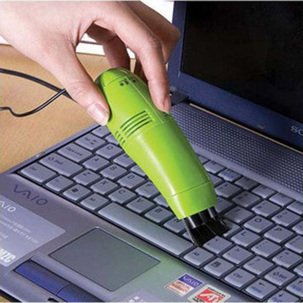 3PCS USB Vacuum Keyboard Dust Cleaner,household dust brush Laptop PC computer notebook USB dust remover Free Shipping!(China (Mainland))