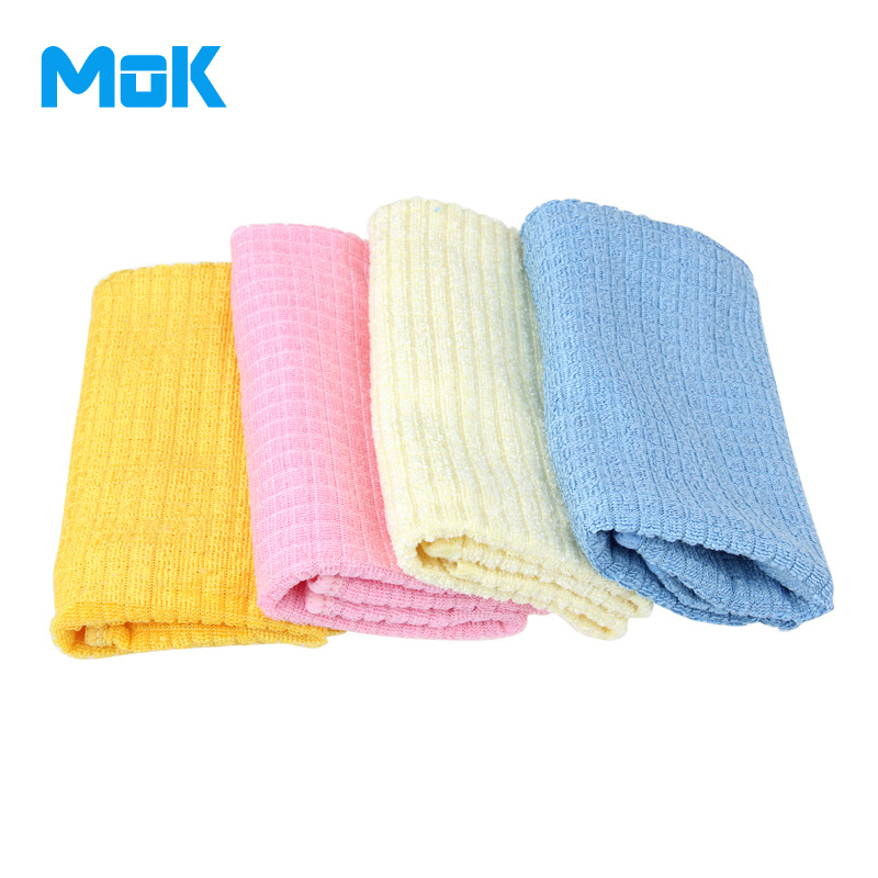 4 pieces Good Quality Bright Superfine Fiber Cloth Good Water Absorption Washing Cloth Durable Good Detergenting Cleaning Cloth(China (Mainland))