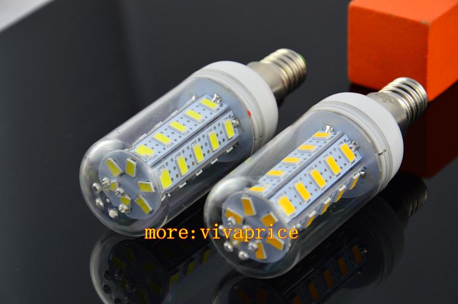sale 50pcs/lot New design Constant pressure product E14 LED corn bulb energy saving light 5730 36led(China (Mainland))