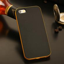 LOGO! Luxury Brand Hybrid TPU Case iPhone 5 5S Deluxe Hard PC Back Cover Dual Layer Slim Phone SE - Myphion Store store