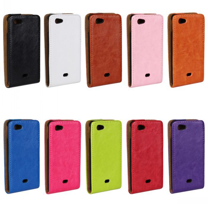 Retro Luxury Mobile Phone Bags Cases Crazy Horse Flip Cover PU Leather Case For Sony Xperia MIRO ST23i(China (Mainland))