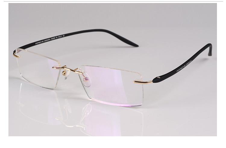 Free Shipping New arrival eyeglasses frames high quality eyewear optical frame men rimless TR90 glasses spectacles optical frameОдежда и ак�е��уары<br><br><br>Aliexpress