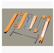 1 Set 12Pcs Plastic Car Radio Door Clip Panel Trim Dash Audio Removal Pry Tool Repairing