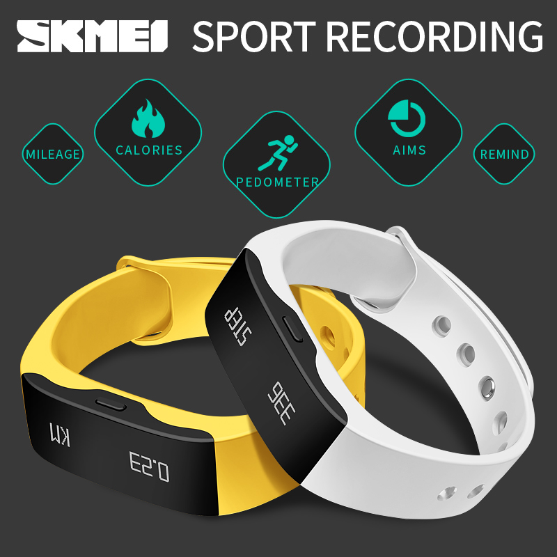 Mingnuo Hot Sell SKMEI Men Women Fashion Sport Watch L28t Outdoor Fitness wristband LED Display Call Reminder Digital band(China (Mainland))