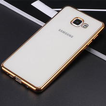 Buy Samsung Galaxy A3 A5 A7 2017 2016 New Luxury Style Plating TPU Phone Case A320F A520F A720 Silicone Soft Back Case Cover for $2.87 in AliExpress store