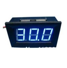 Mini 3.0-30VDC Digital Voltage Panel Meter DC 3.0V to 30V Blue LED Digital Voltmeter DC Voltage Monitor Meter LED display(China (Mainland))