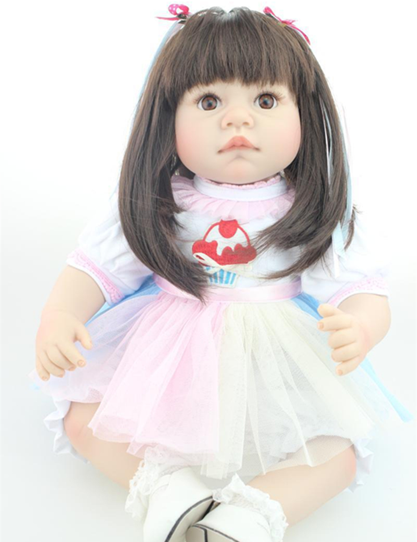 22 soft vinyl alive reborn baby twin dolls for kids toys<br>