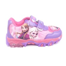Hot sale 2016 autumn fashion cartoon sneakers boys girls flats Ice Snow Queen Fashion Elsa Anna