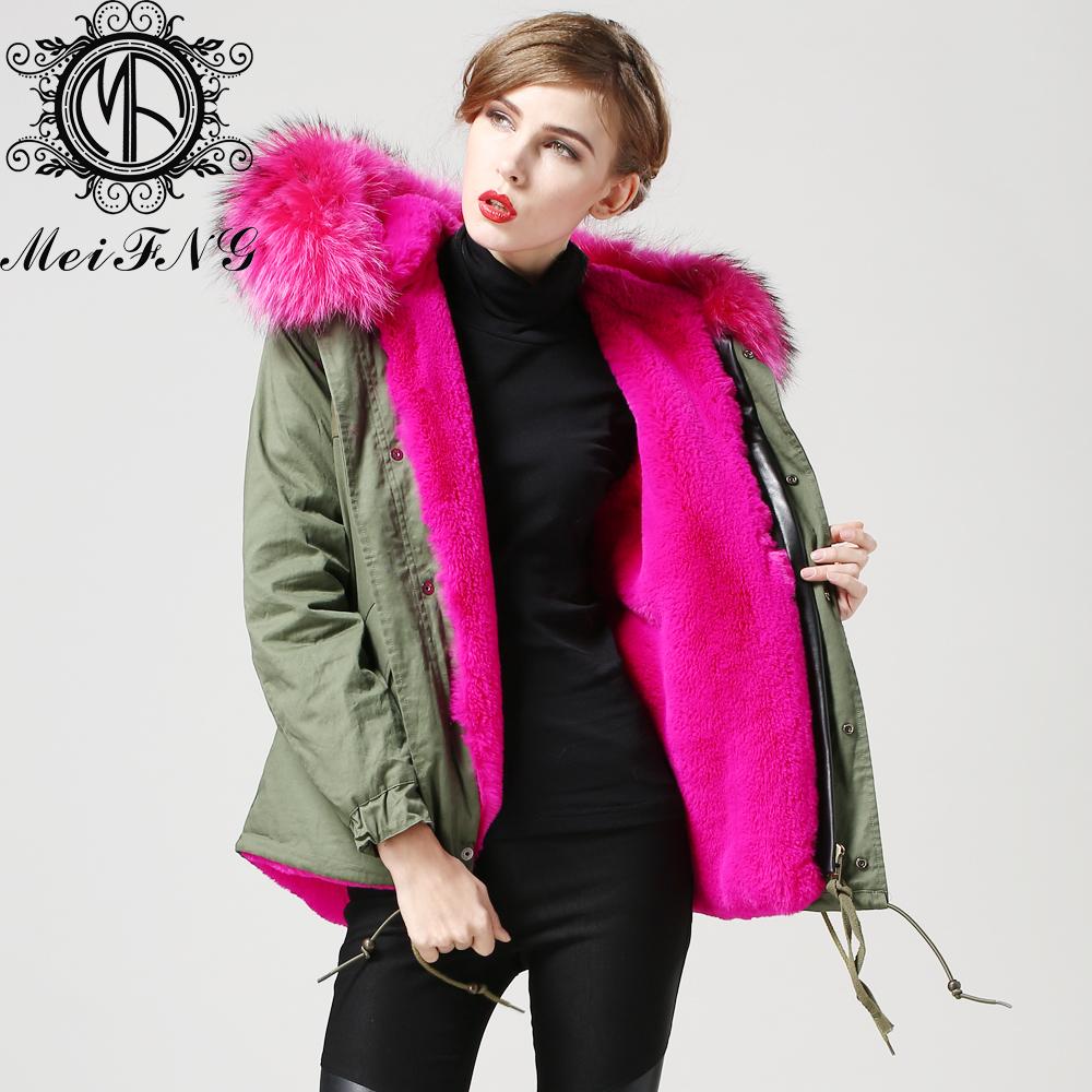 Womens Parka Jackets Fur Hood | Fit Jacket