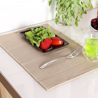 4PCS/set Cotton Placemats kitchen table linen Meal Cup Pad Tableware Dining bar Utensil Restaurant Table decoration accessories(China (Mainland))