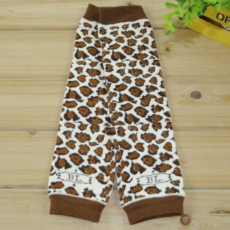free ship 3pairs retail baby leopard leg warmers boys brown cotton leg warmers girls cotton legwarmers 300styles choose freely(China (Mainland))
