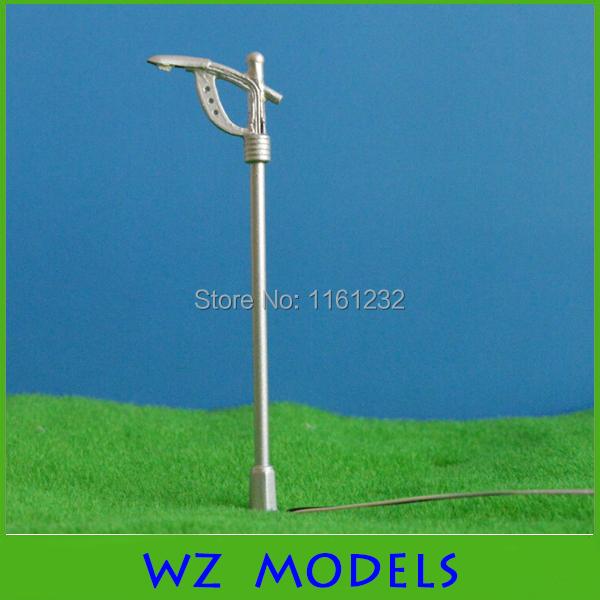 50pcs COPPER Model Single Head Street Park Garden Lights Lamppost N Scale 1/ 500<br><br>Aliexpress