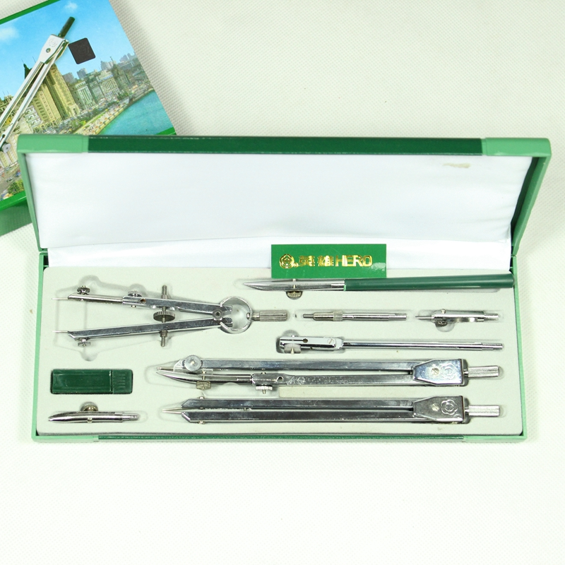 HERO Compasses H4009 Mechanical Architecture Engineering Specialty Drawing Compasses Tool Set<br><br>Aliexpress