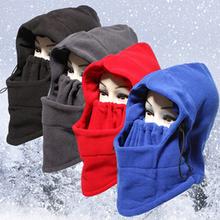 Thermal Fleece Balaclava Hat Hood Ski Bike Wind Stopper Face Mask New Caps Neck Warmer Winter Fleece Motorcycle Neck Helmet Cap(China (Mainland))