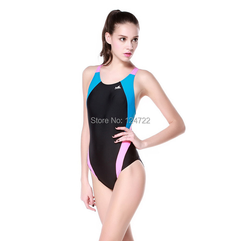 Professional One Piece Women Swimwear Competition Traning Female Swimsuit litter girl swimwear 3 Colors - Taurus Sport Goods Limited store