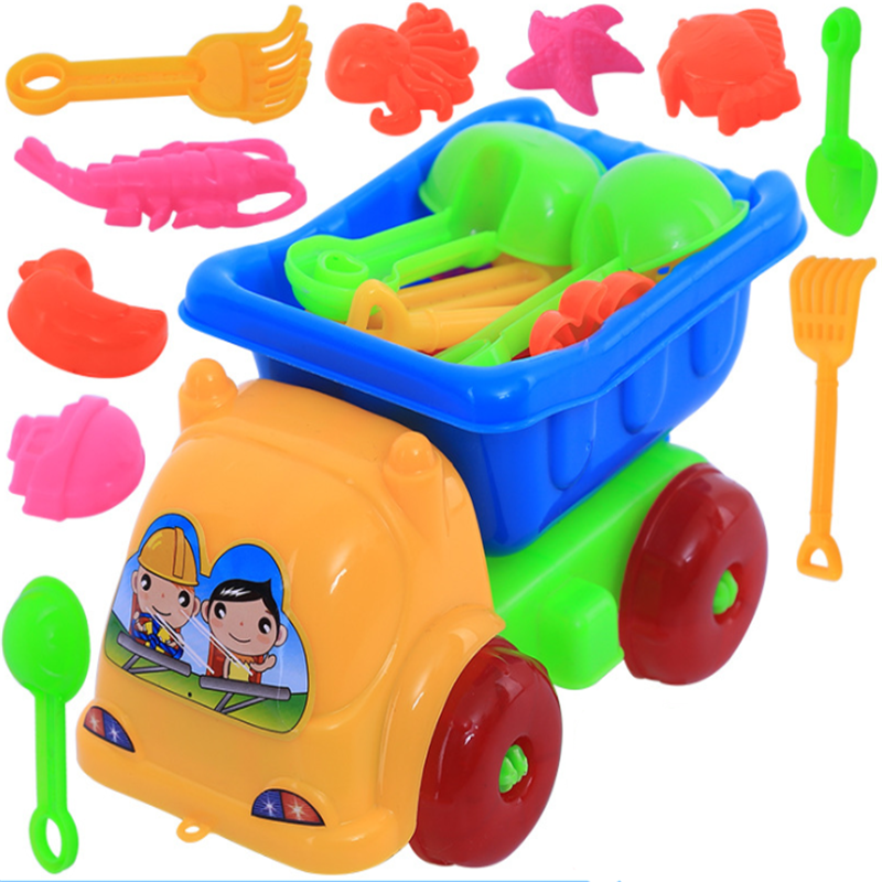 Beach Sand Tools Toys Bucket Set For Toddler Kids Children Outdoor Toy LE