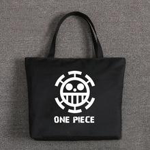 Buy Women Girls Japan Anime One Piece Trafalgar Law School Idol Diary Printed Single Shoulder Hand Bag Tote Shopping Bag Day Bag for $11.88 in AliExpress store