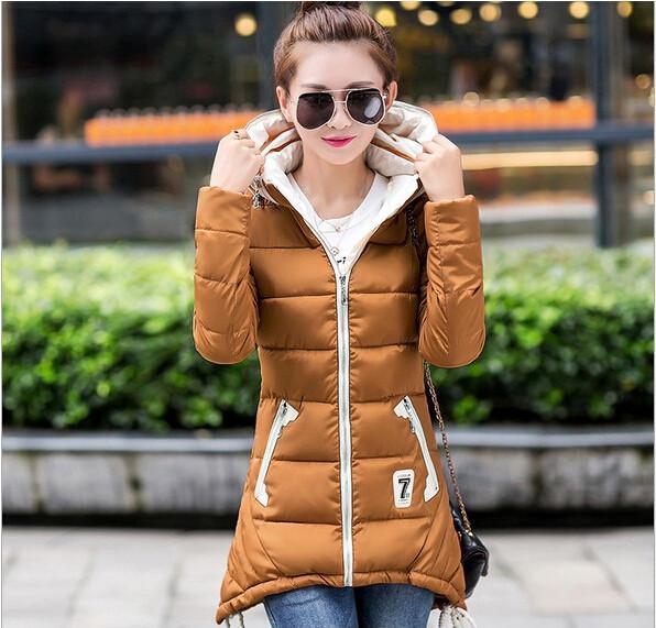 Long winter jacket women fashion warm winter coat doudoune femme coats women jacket women's winter W-049