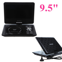 2015 NEW Free Shipping EVD player 9.5 Inch Screen Portable DVD PLAYER 270Degree Rotating GAME Analog TV CD MP4,USB/SD Player DVD(China (Mainland))