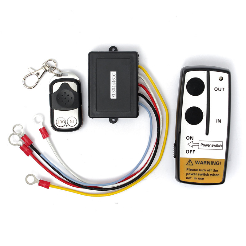 Brand New High Quality Wireless Winch Remote Control Switch Unit for Truck ATV SUV Winch(China (Mainland))