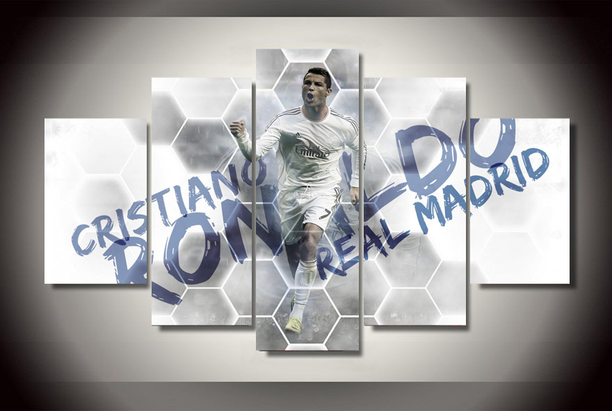 HD Printed Football star Painting on canvas room decoration print poster picture canvas Free shipping(China (Mainland))