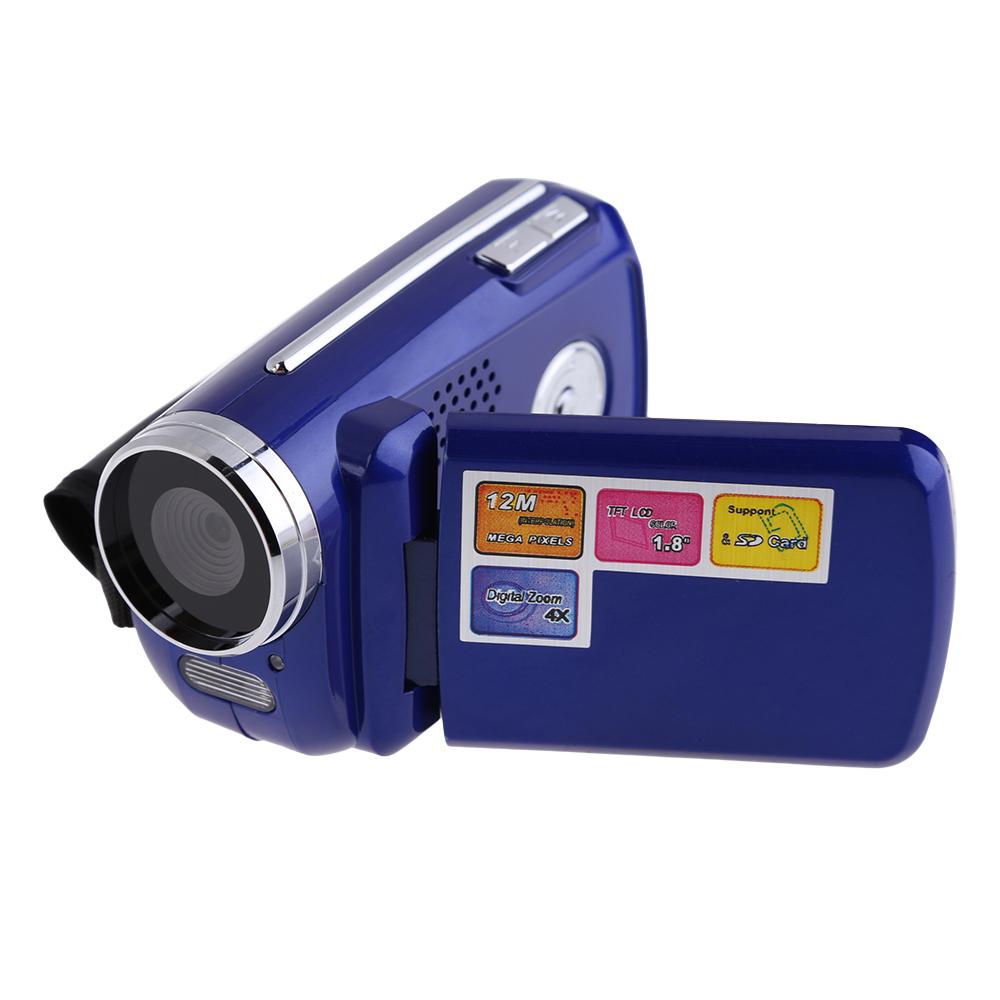 1.8inch TFT LCD 12MP 720P HD Mini DV Camcorder Digital Video Camera Recorder with 4x Zoom LED Flash Light Camcorder Digital Cam(China (Mainland))