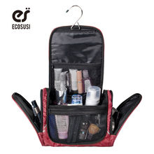 Polyester Cosmetic Cases Large Capacity Women Cosmetic Bag Travel Organizer Bag Multifunction Travel Toiletry Bag Makeup Handbag(China (Mainland))